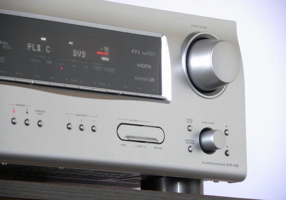 DENON AVR-1508 AV功率放大器