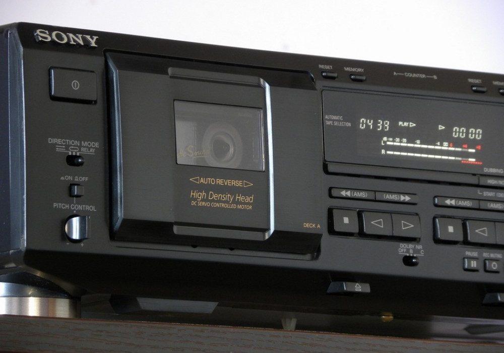 SONY TC-WE435 双卡座