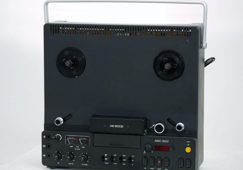 ASC AS 6002 古董 Bandmaschine/T<wbr/>onbandgerät+Zu<wbr/>behör! 1-A Revidiert+1J.G<wbr/>arantie