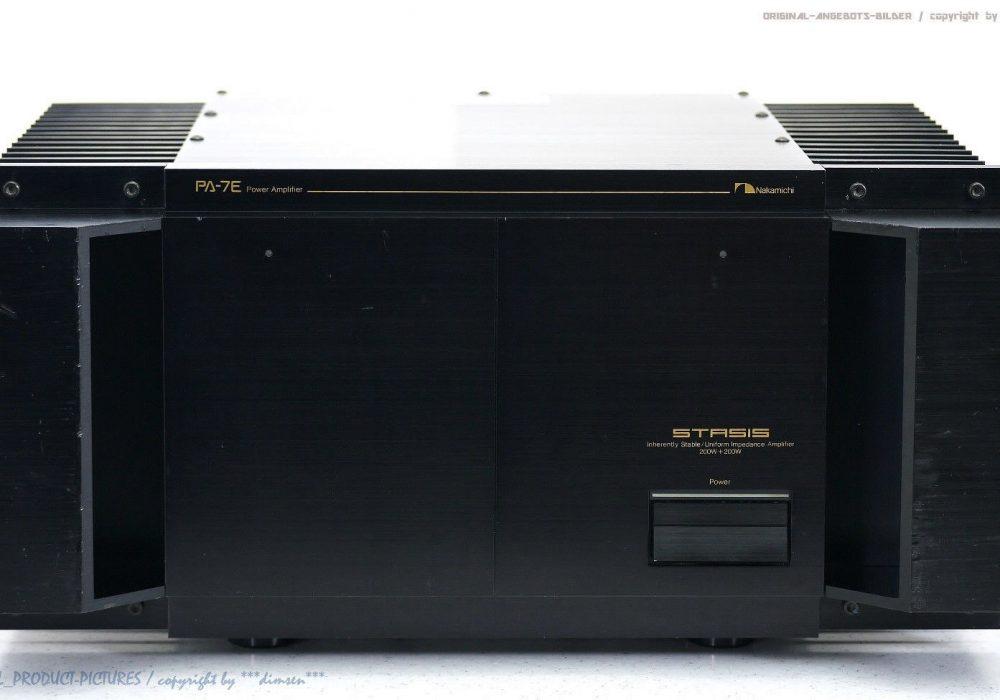 NAKAMICHI PA-7E STASIS High-End 功率放大器