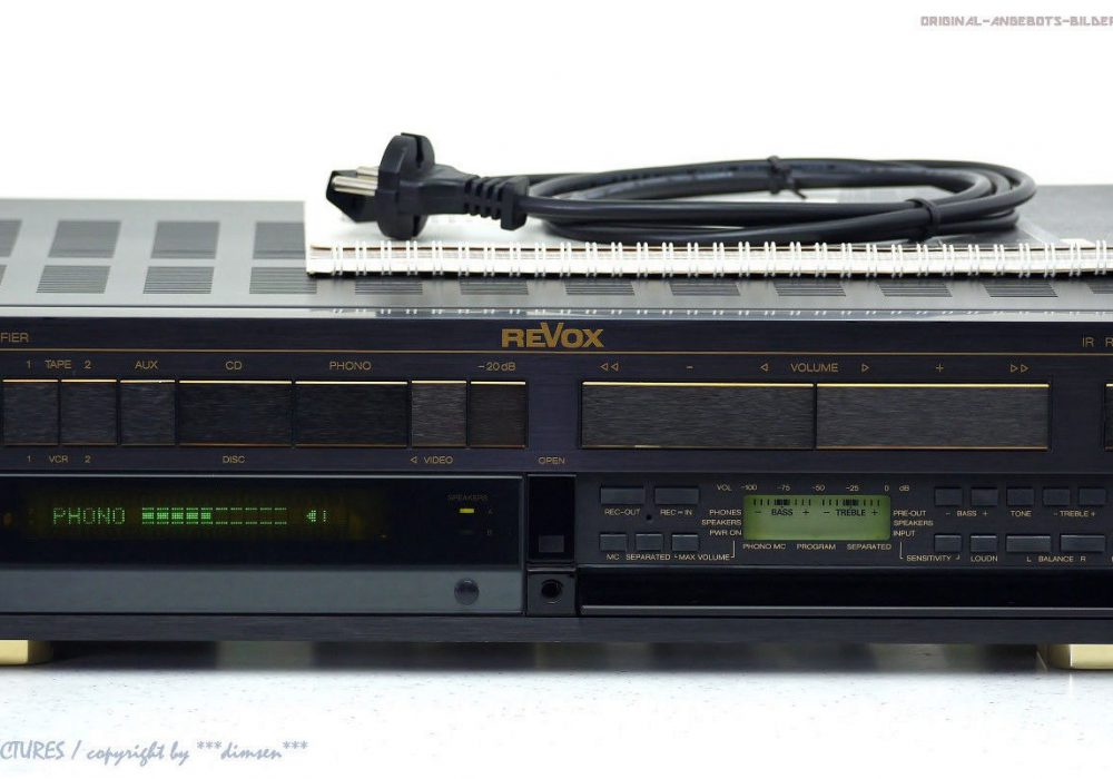 REVOX/Studer B250-S High-End 功率放大器