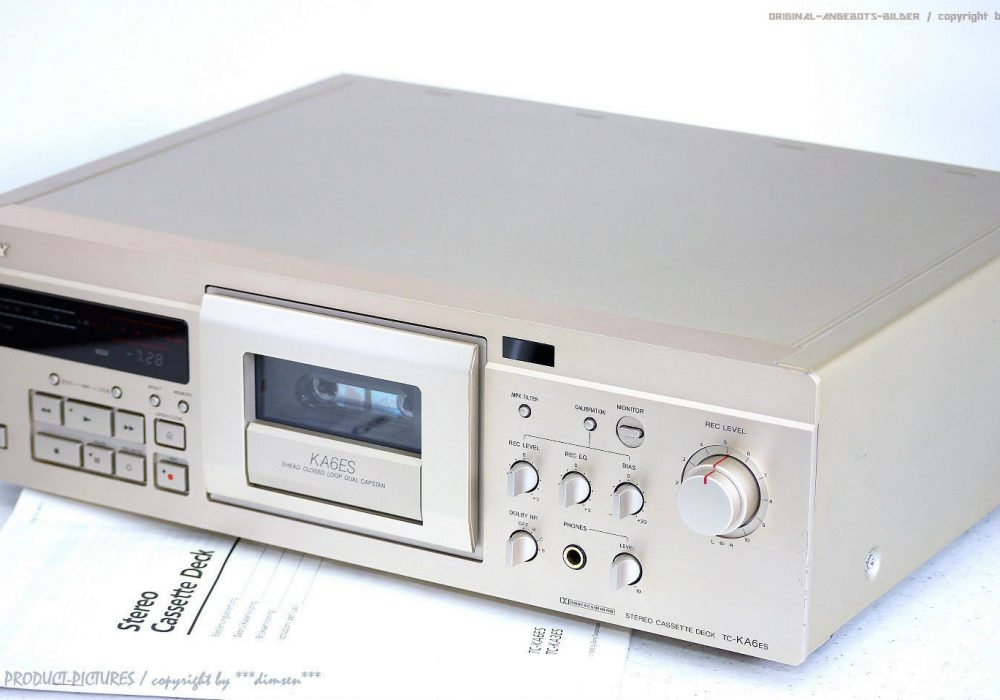 索尼 SONY TC-KA6ES High-End 卡座