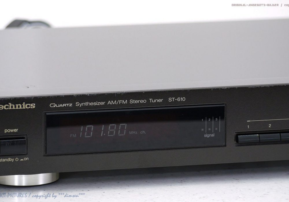 Technics ST-610 Synthesizer AM/FM Tuner 收音头