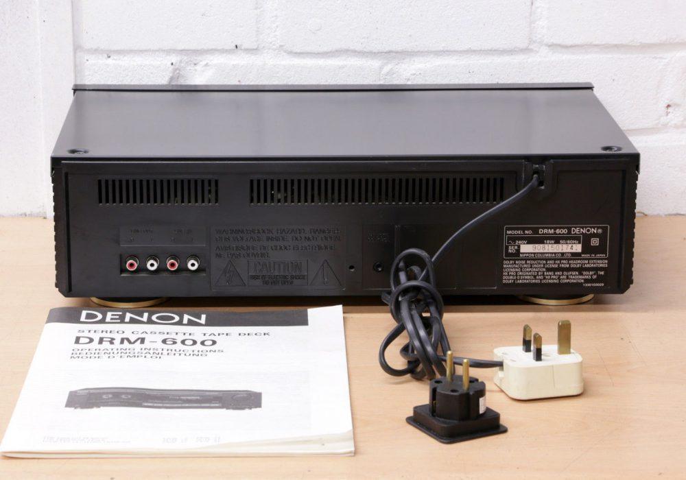 DENON DRM-600 卡座