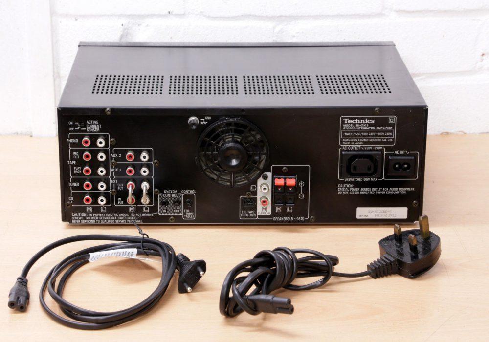 松下 Technics SU-X102 功率放大器