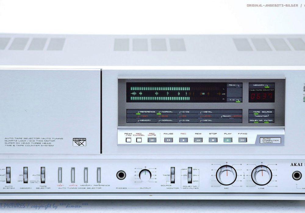 AKAI GX-F95 古董 High-End 磁带 Tape 卡座 1A-Zust!! Revidiert+1J.G<wbr/>arantie!