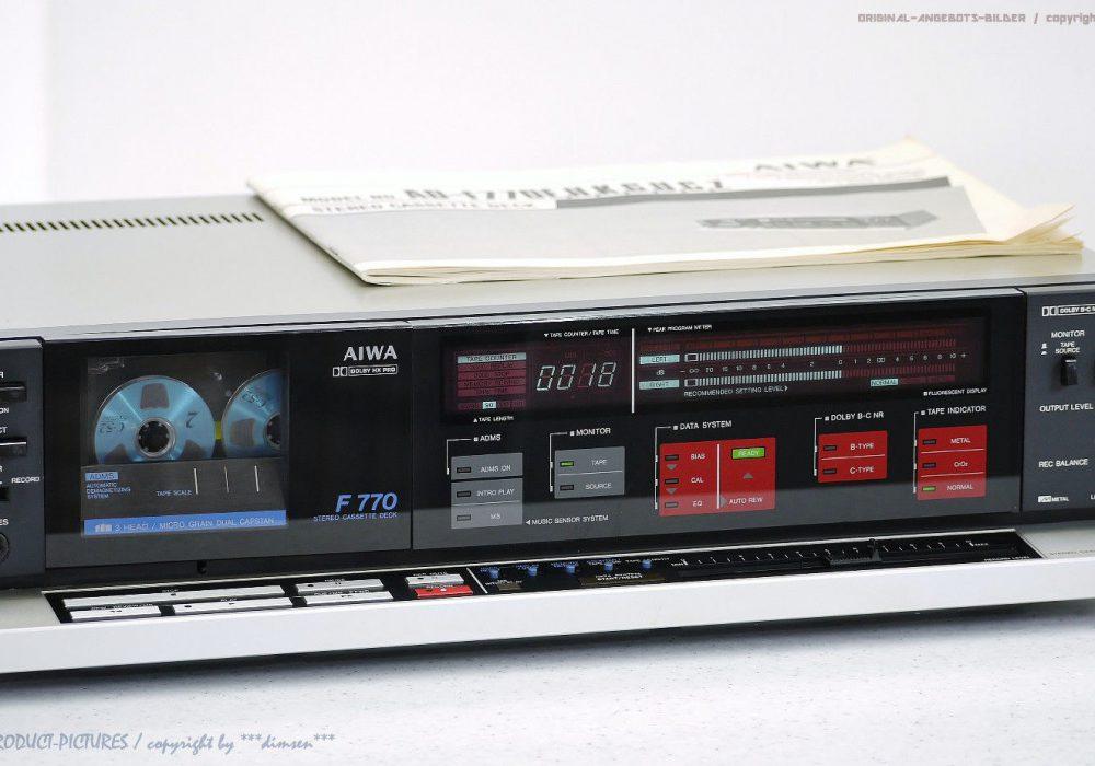 AIWA AD-F770E 卡座