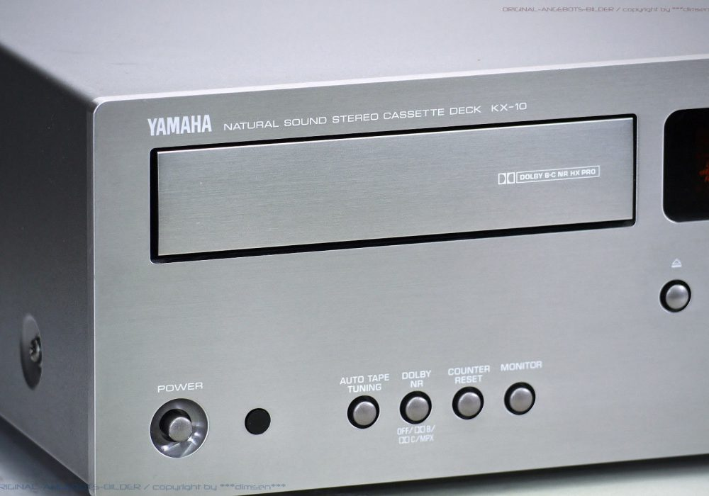 YAMAHA KX-10 High-End Midi 磁带 Tape 卡座 Top + BDA!! Revidiert+1J.G<wbr/>arantie!