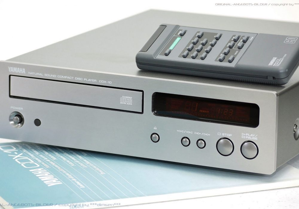 YAMAHA CDX-10 Midi High-End CD-Player