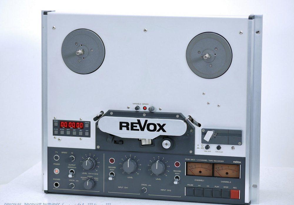 REVOX/STUDER PR99 mkIII Studio Bandmaschine/T<wbr/>onbandgerät! Revidiert+1J.G<wbr/>arantie!