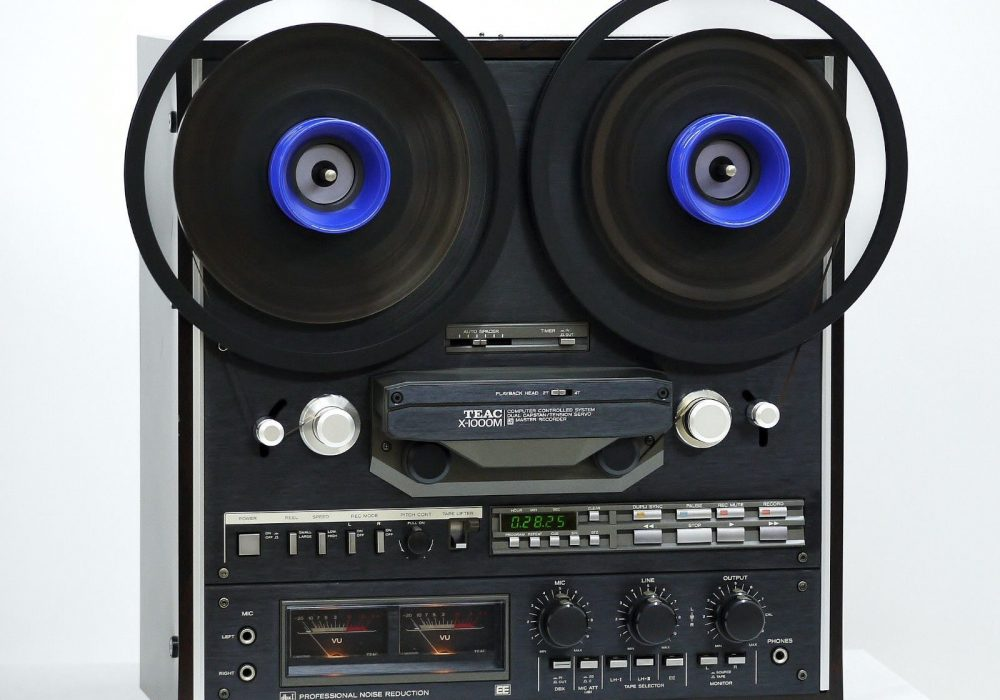 TEAC X-1000M 开盘机