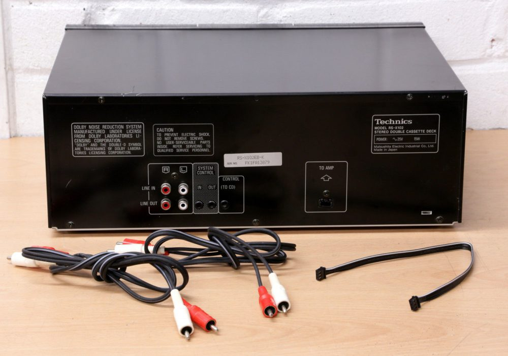 松下 Technics RS-X102 双卡座