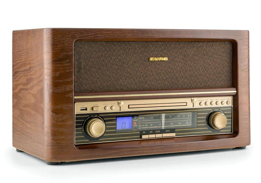 AUNA CD/MP3/收音 仿古音响