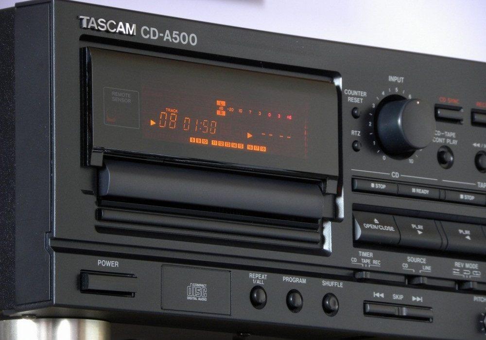 TASCAM CD-A500 磁带卡座/CD一体机