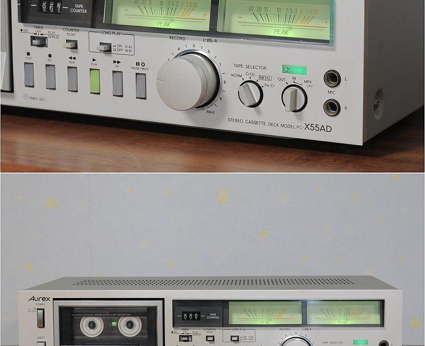 Aurex PC-X55AD 卡座