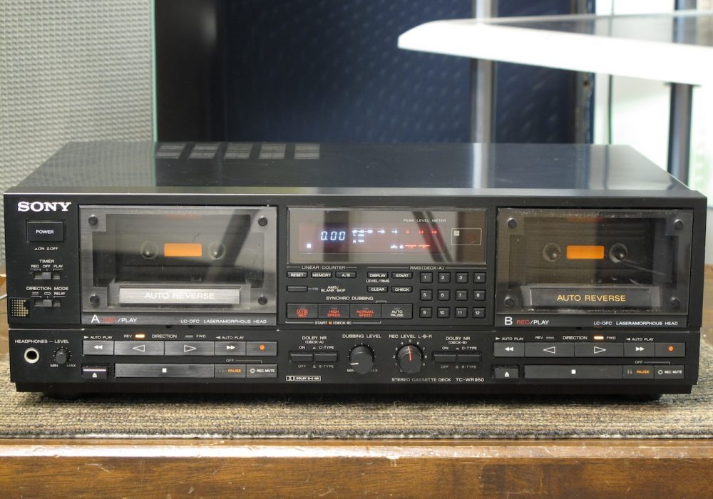 SONY TC-WR950 双卡座