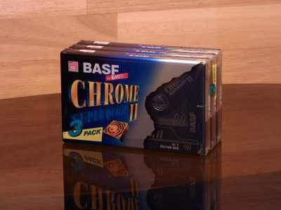 BASF 1998 Chrome Super Quality II 90 盒式录音带