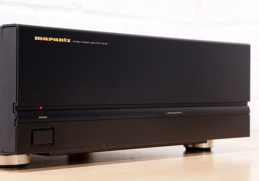 MARANTZ SM-80 Power Amplifier 功率放大器
