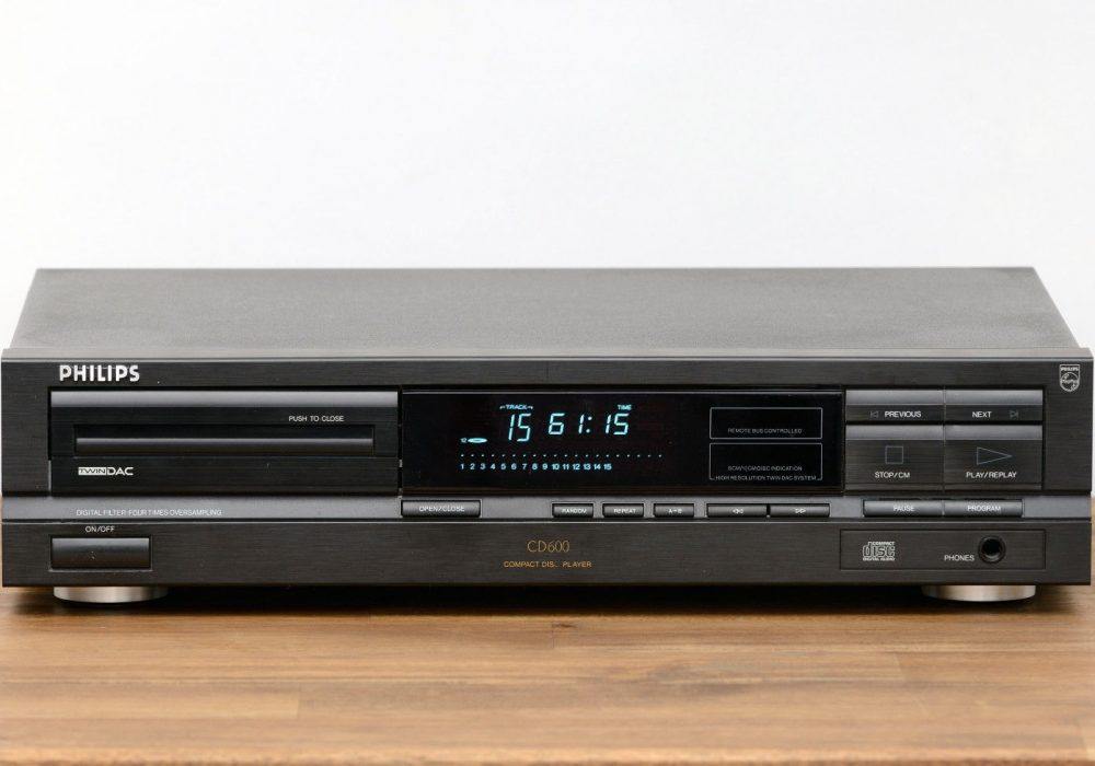 Philips CD-600 CD-Player CD播放机