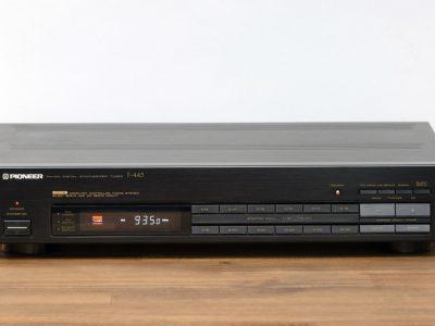 先锋 PIONEER F-445 立体声 Tuner / Radio in schwarz mit OVP