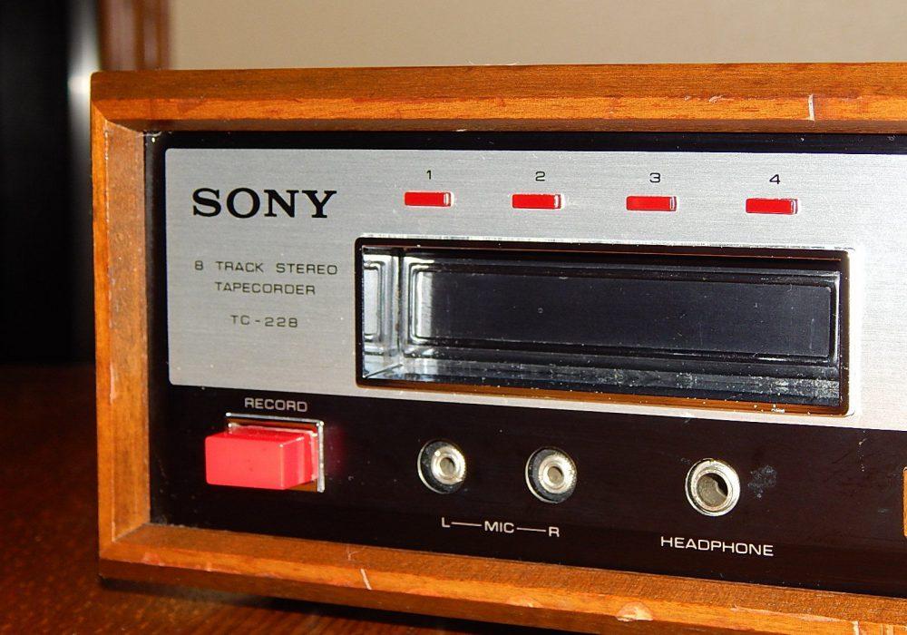 索尼 SONY TC-228 8 Track 8轨磁带卡座