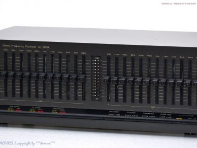 松下 Technics SH-8020 古董 12-Band 立体声 Graphic Equalizer Top-Zust.+1j.G<wbr/>arantie!