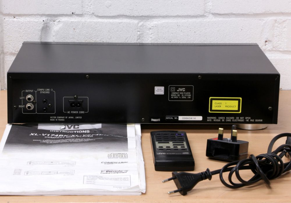 JVC XL-V274 Hi-Fi CD播放机