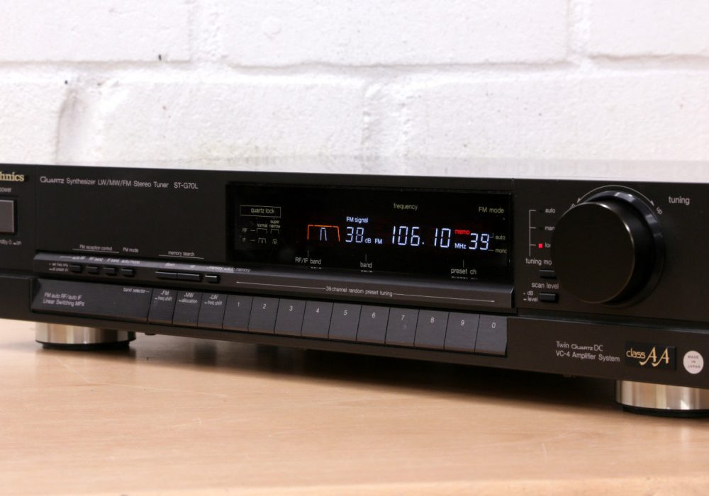 松下 Technics ST-G70L FM/MW/LW Tuner 收音头