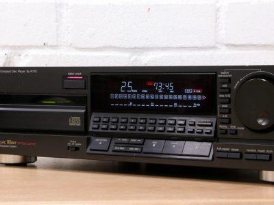 松下 Technics SL-P777 CD Player CLASS AA 4 x 18 bit DAC Made in Japan DIG out