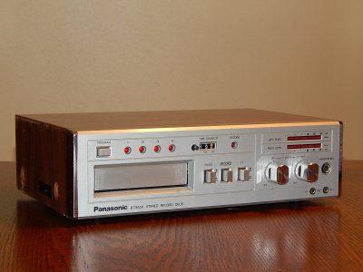 松下 Panasonic RS-856 8轨磁带卡座
