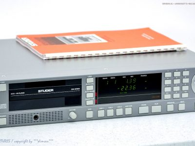 STUDER D731 Professional CDS Broadcast Quality CD Player! Gewartet+1J.Ga<wbr/>rantie!