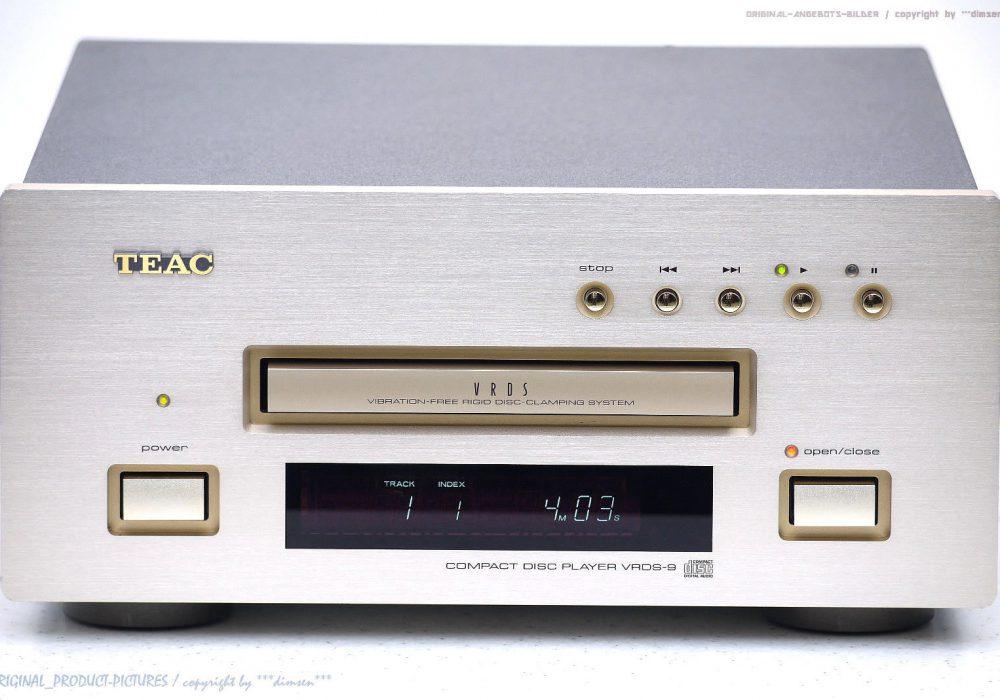 TEAC VRDS-9 High-End CD-Player in 1A-Zustand! Gewartet + 1J.Garantie!!