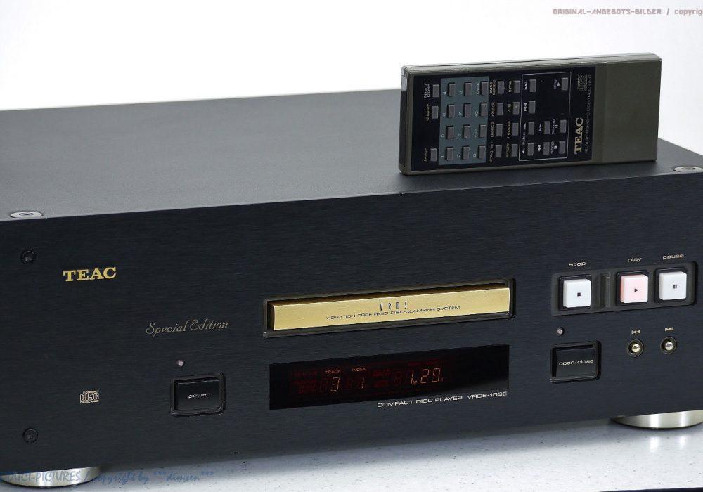 TEAC VRDS-10SE High-End CD-Player in 1A-Zustand mit FB! Gewartet + 1J.Garantie!!