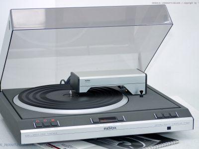 REVOX B291 High-End Tangential Plattenspieler<wbr/>/黑胶唱机!! Revidiert+1J.G<wbr/>arantie!