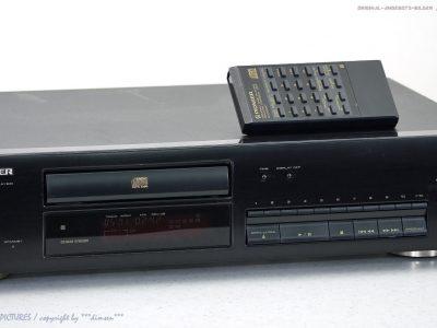 PIONEER PD-204 Hochwertiger CD-Player mit FB in Top-Zustand + 1J.Garantie!!