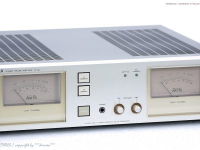 力士 LUXMAN M-02 High-End Endstufe/Power<wbr/>-Amplifier! Gewartet+1J.Ga<wbr/>rantie!