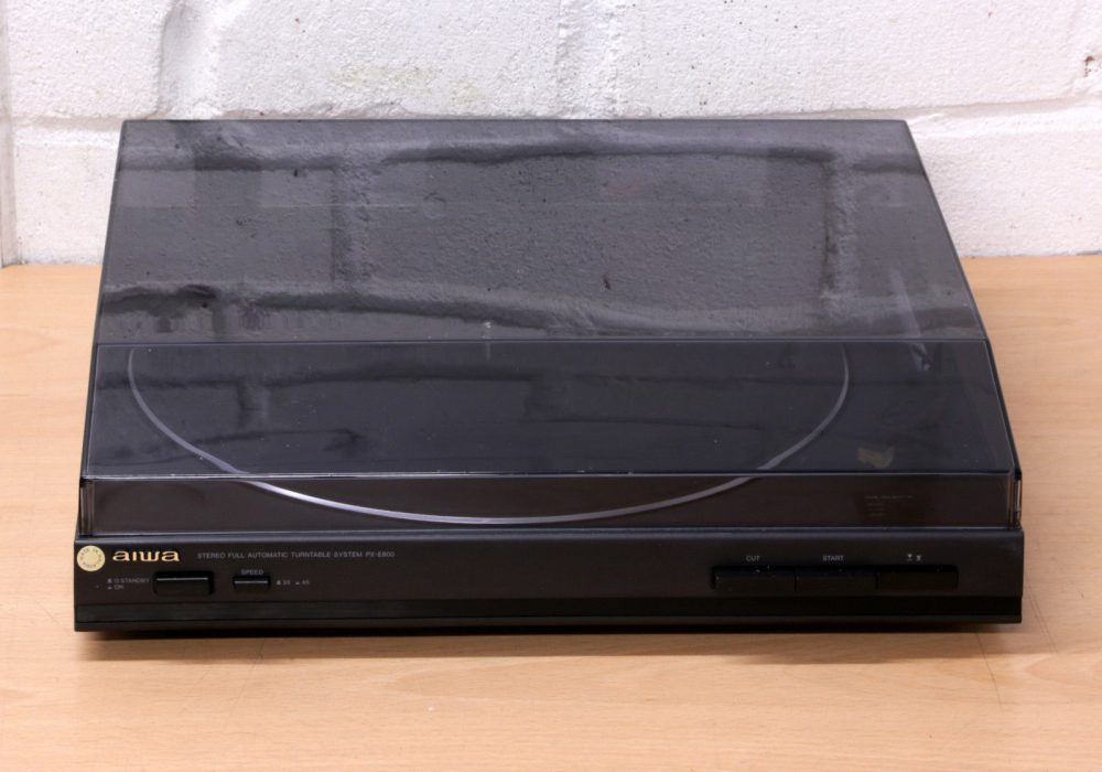 AIWA PX-E800K fully automatic Hi-Fi 黑胶唱机 Built in switchable pre amp