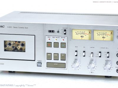 TEAC A-650 古董 磁带 Tape 卡座 1A-Zustand!! Revidiert + 1J.Garantie! NICE