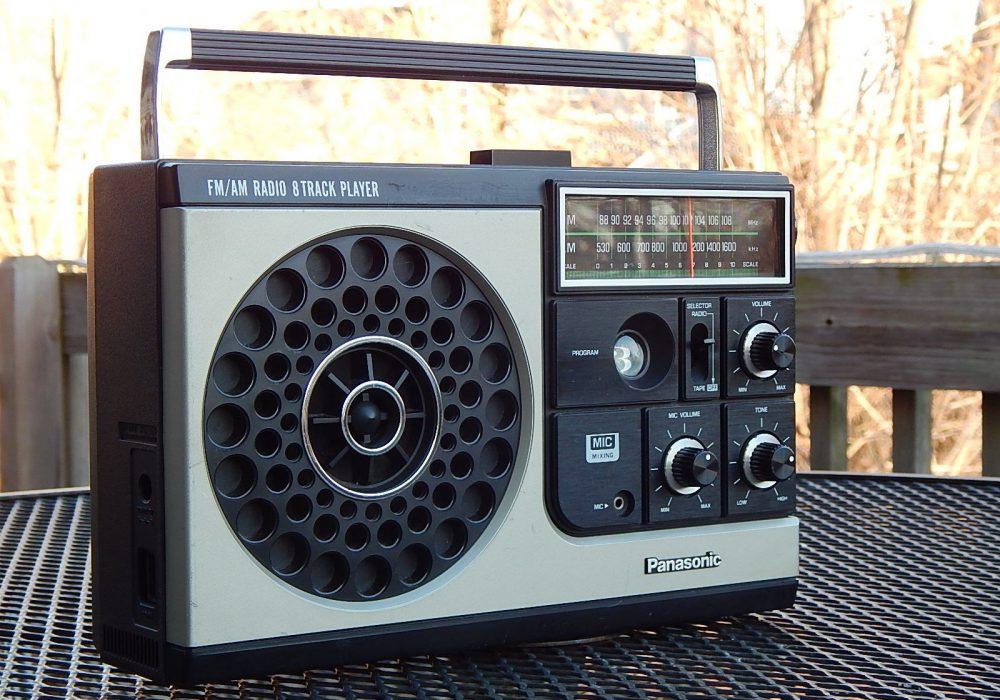 松下 Panasonic RQ-835S AM/FM 8轨磁带 收录机