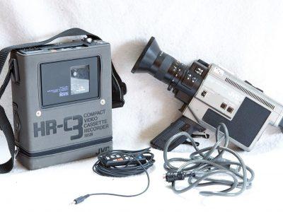 JVC GX-78E 摄像机 & HR-C3 VHS-C 录像机