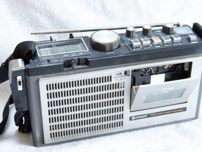 HITACHI TRK-1500E FM/SW/LW 小型收录机