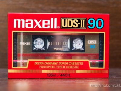 Maxell / TDK 盒式录音带 图片集