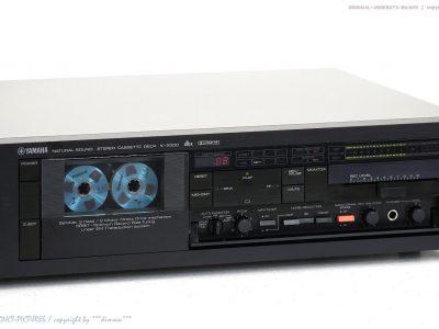 YAMAHA K-2000 dbx High-End 3-Head 磁带卡座 Top-Zust.! Revidiert+1j.G<wbr/>arantie