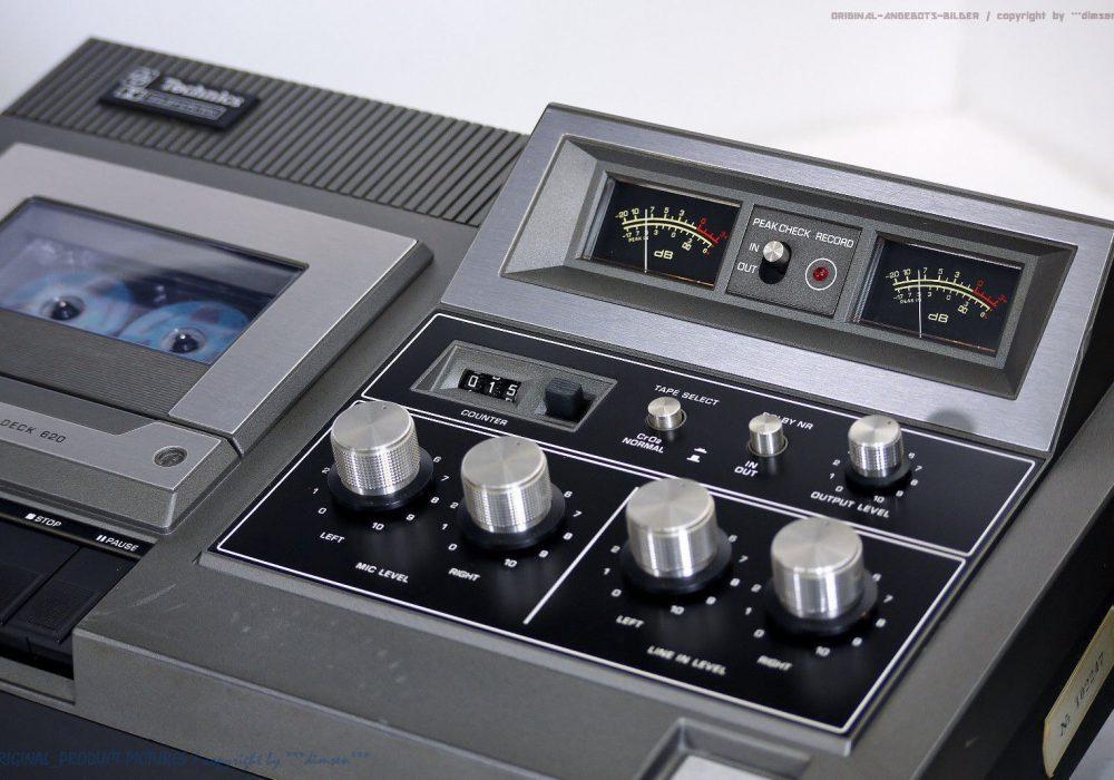 松下 Technics RS-620 USD 古董 磁带 Tape 卡座!! Revidiert + 1J.Garantie!