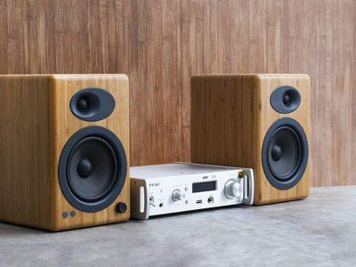 TEAC NT-503DAB + 声擎 Audioengine A5+