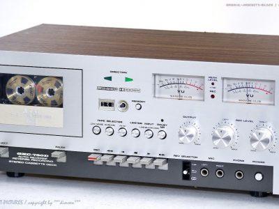 AKAI GXC-730D 古董 磁带卡座 Maschine Top-Zustand! Revidiert+1J.G<wbr/>arantie!