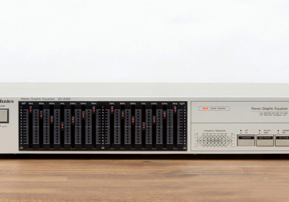 Technics SH-Z200 图示均衡器