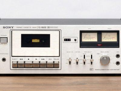 索尼 SONY TC-186SD 立体声 磁带卡座