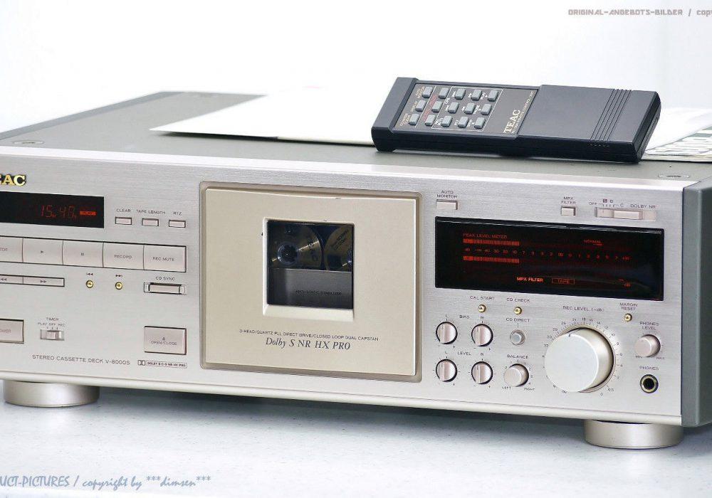 TEAC V-8000S High-End 卡座