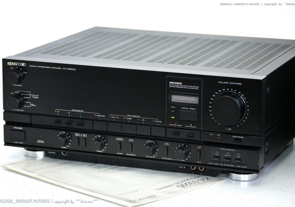KENWOOD KA-3300D High-End 功率放大器